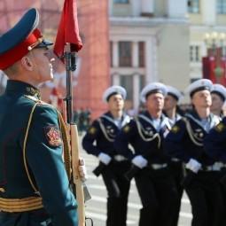 Парад Победы и салют в честь 75-й годовщины Победы в Великой Отечественной войне 2020