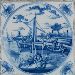 Выставка «Приключения голландской плитки XVIII века из собрания Эрмитажа»