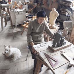 Выставка  «Кира Суворова. Скульптура, графика»