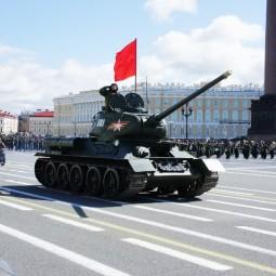 Репетиции парада Победы 2018