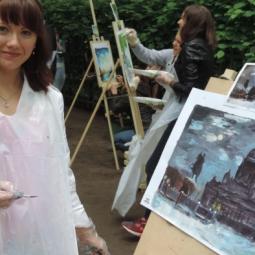 Открытый пленэр «Я рисую Петербург» 2017