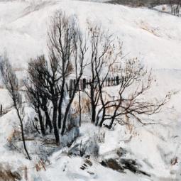 Выставка «Времена года впроизведениях Е. Е. Моисеенко. Зима»