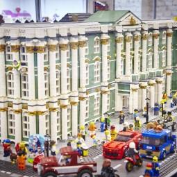 Выставка-музей кубиков  LEGO