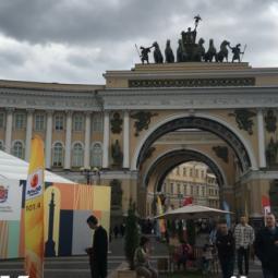Книжный салон 2021 на Дворцовой площади