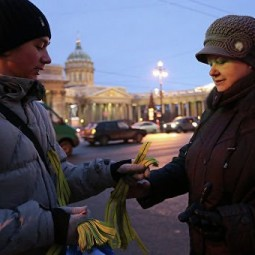 Акция «Ленточка Ленинградской Победы-2019»