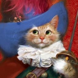 Мюзикл для детей и взрослых «Кот в сапогах»