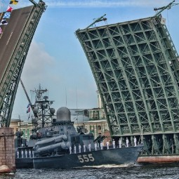 Подготовка к Военно-морскому параду 2020