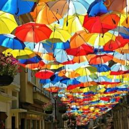 Фестиваль «Аллея парящих зонтиков» 2016