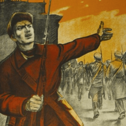 Выставка «Художник — воину сродни, удар его искусства точен»
