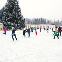Открытие катка в музее-заповеднике Павловск 2021