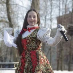 Масленица в Парке Культуры и отдыха имени Бабушкина 2017