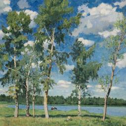 Выставка «Игорь Грабарь. К150-летию содня рождения»