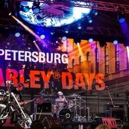 Фестиваль «St.Petersburg Harley® Days» 2016