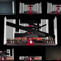 Выставка «Театральные эскизы Александра Орлова и Ирины Чередниковой»