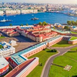 Празднование Дня рождения Санкт-Петербурга  в Петропавловской крепости 2021