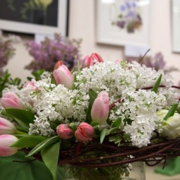 Выставка сирени и тюльпанов «Мечты овесне» 2021