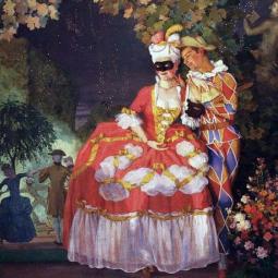 Выставка «Константин Сомов. К 150-летию со дня рождения»