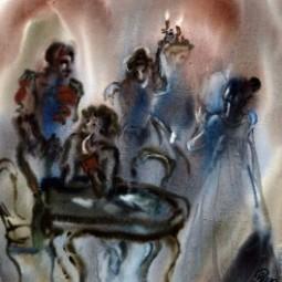 Выставка «Взойду невидимо и сяду между вами»