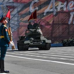 Парад Победы в Санкт-Петербурге 9 мая 2021