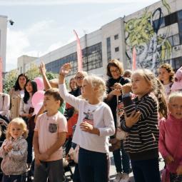 День защиты детей в Севкабель Порт 2021