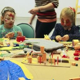 Праздник в детской библиотеке «Город»
