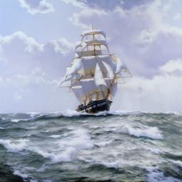 Выставка  «Уходят в море корабли»
