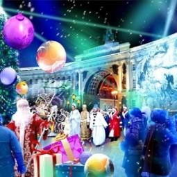 Новогодние праздники в Санкт-Петербурге 2018