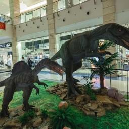 """Выставка """" Динозавры и гиганты ледникового периода"""""""