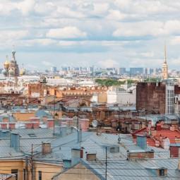 Групповые экскурсии по крышам в Санкт-Петербурге