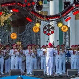 Концерт ко дню Военно-Морского флота на Дворцовой площади 2019