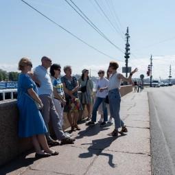 Культурно-исторические прогулки в Петербурге летом 2021