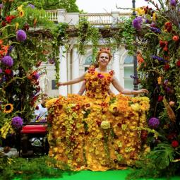 Международный Фестиваль цветов 2018