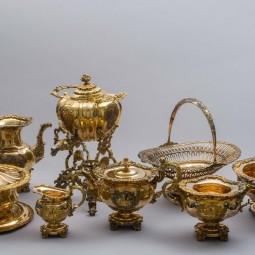 Выставка «Фамильное серебро дворянского рода. Клад из особняка Нарышкиных»