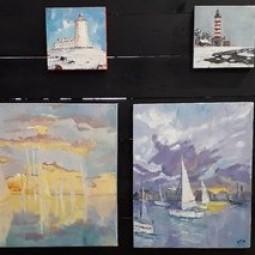Выставка «Балтийское море вобъективе инахолсте»
