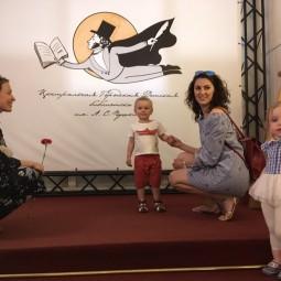 Онлайн-акция «Цветок Пушкину»