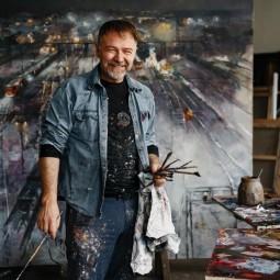 Выставка живописи Романа Ляпина «Основание»