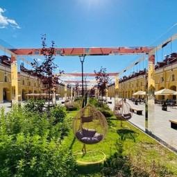 Открытие нового пространства в Никольских рядах лето 2020