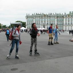 Роллер пробег в Санкт-Петербурге 2017