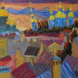 Выставка Выставка «Артур Молев. Местечко»