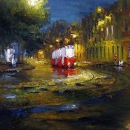 Персональная выставка Ростома Басиладзе 2017