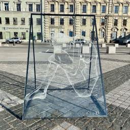 Выставка «Стекло» у Манежа лето 2021