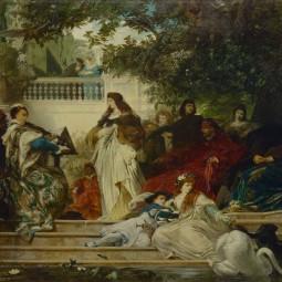 Выставка «Немецкая и австрийская живопись XIX века из особняка барона А.Л. Штиглица»