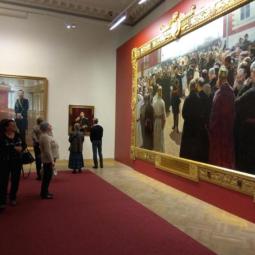 Выставка «И.Е. Репин. К 175-летию со дня рождения»