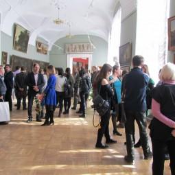 Выставка «От мастерской к кафедре реставрации живописи»