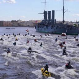 Закрытие гидросезона в Санкт-Петербурге 2021