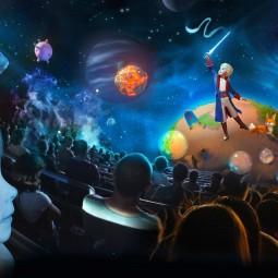 Сказка «Маленький Принц» в  Планетарии