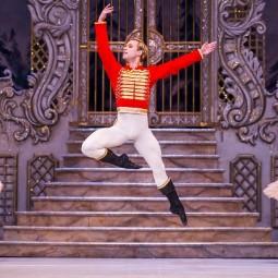 Показ балета Щелкунчик в Новой Голландии