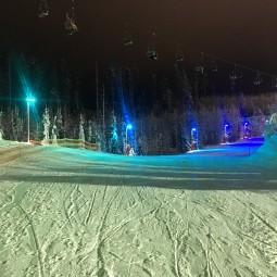 Ночная лыжная гонка на трассе «Игора Драйв» 2021