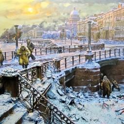 Выставка «Подвигу блокадного Ленинграда посвящается»