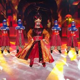 Шоу «Аладдин и Повелитель огня»